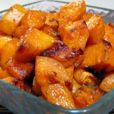 Roasted Sweet Potatoes with Honey Glaze