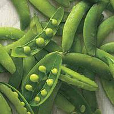 Sugar Snap Peas with Sweet Onion Vinaigrette