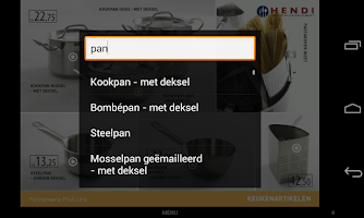 Screenshot of HENDI NL