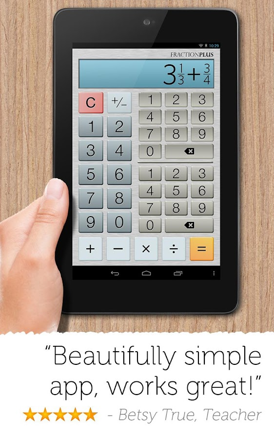 Fraction Calculator Plus Screenshot 6