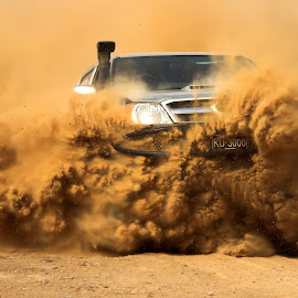 Desert Storm by Rizwan Bhiriya - Sports & Fitness Motorsports ( rally, 4x4, desert, racing, action, sports, motorsport, race )