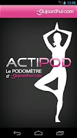 Screenshot of Podomètre Actipod