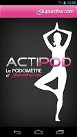 Screenshot of Podomètre Actipod