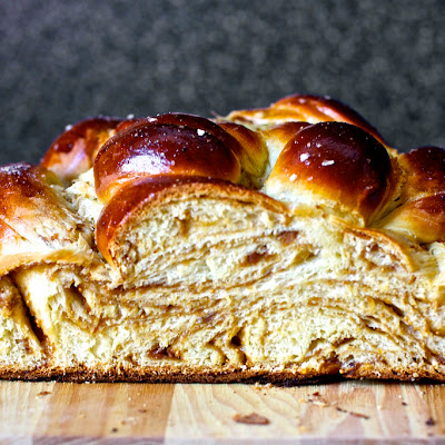Fig, Olive Oil and Sea Salt Challah