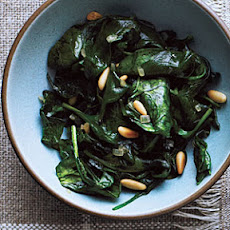 Sautéed Spinach and Pine Nuts