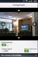 Screenshot of Verizon Home Control