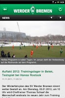 Screenshot of SV Werder Bremen