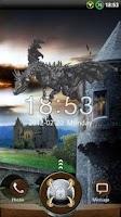 Screenshot of GO Locker Dragon Theme