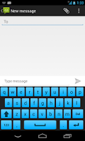 Screenshot of Galaxy S5 Keyboard