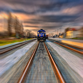 by Dragan Duric - Transportation Trains ( track, train )