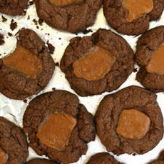 Double Chocolate–Caramel Cookies Recipe