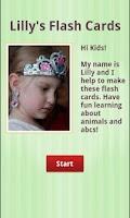 Screenshot of Free ABC Animal Flash Cards
