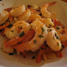 Garlic Shrimp in Yogurt Sauce