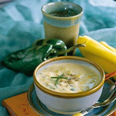 Corn-and-Poblano Chowder