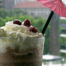 Black Forest Ice Cream Shake