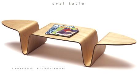 创意桌子  - 池塘边的榕树林 - 镜月博客