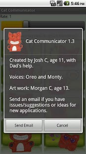Cat Communicator - screenshot