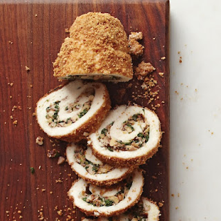 Walnut-Stuffed Chicken Roulades