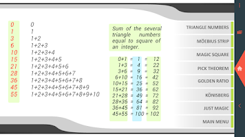 Screenshot of Math Free