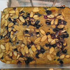 Blueberry-Almond Coffee Cake (Low Fat)