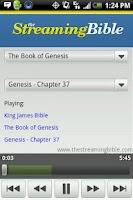 Screenshot of The King James Streaming Bible