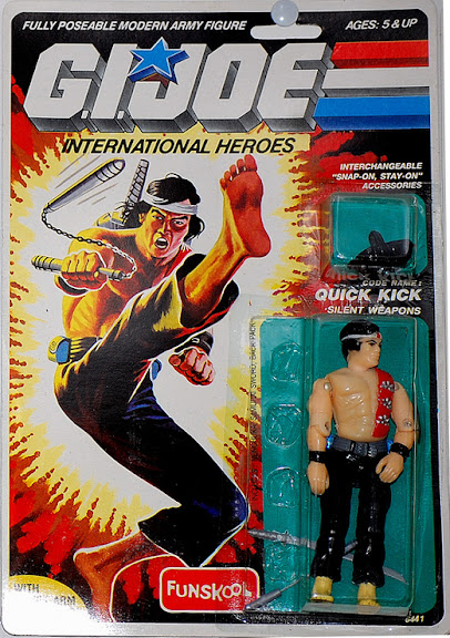 A Quick Kick G.I. Joe action figure
