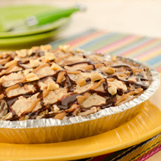 Peanut Butter Lovers Ice Cream Pie