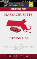 Screenshot of Massachusetts Driving Test