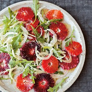 Fennel Salad with Blood Oranges & Arugula