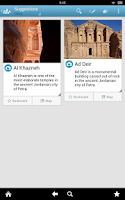 Screenshot of Jordan Travel Guide by Triposo