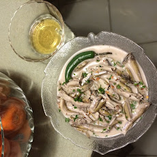 Smelt Poached in Coco Milk and Vinegar