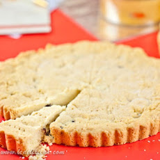 Lemon and Cranberry Shortbread