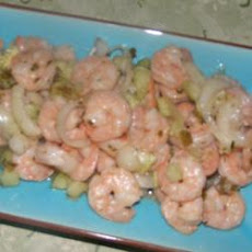 Kiki's Sweet and Spicy Marinated Shrimp