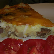 Sausage and Potato Frittata