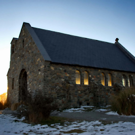 A PLACE TO MEDITATE by Winkie Chau - Buildings & Architecture Places of Worship ( church, tekapo, meditation, worship )
