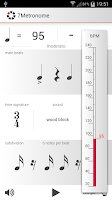 Screenshot of 7Metronome: Pro Metronome