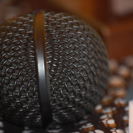Microphone by Teresa Snyder - Novices Only Objects & Still Life