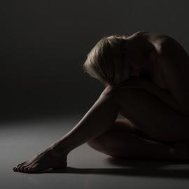 Esoteric by Brent Dreyer - Nudes & Boudoir Artistic Nude ( nude, hidden, artistic, implied, shadows )