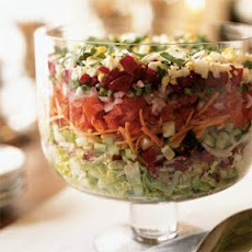 Passover Chopped Layered Salad