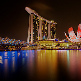 iLight Event by Sam Song - City,  Street & Park  Skylines ( mbs, marina bay sands, singapore, city, night, , city at night, street at night, park at night, nightlife, night life, nighttime in the city )