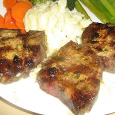 Herb Grilled Rib Lamb Chops