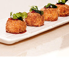 Thai Crab Cakes With Tomato Chilli Jam