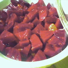 Yummy Beet Salad With Raspberry Dressing