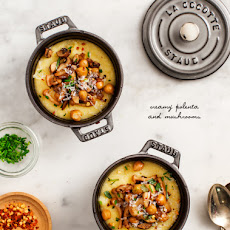 Creamy Polenta & Mushrooms