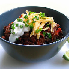 Rob's Super Bowl Chili