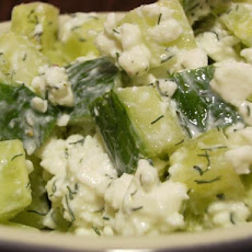 Threadgill's Cottage Cheese Cucumber Salad