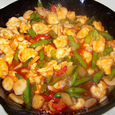 Sweet and Sour Stir-Fry Chicken