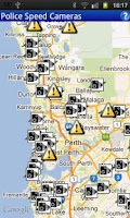 Screenshot of Speed Cams Perth