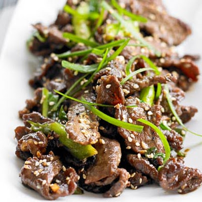 Sizzling Korean-style beef