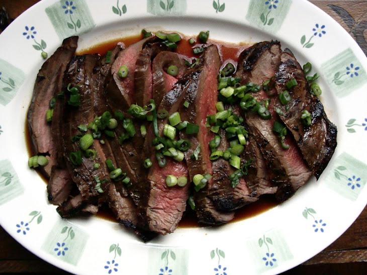 Ginger Soy Marinated Flank Steak Recept   Yummly